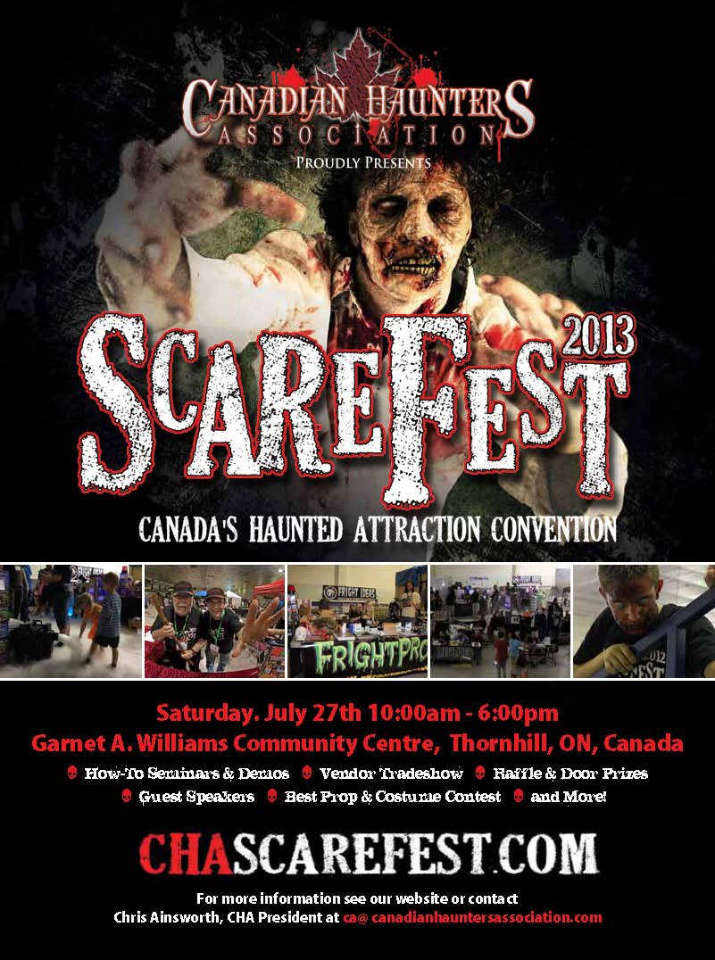 ScareFest: Canada's Haunted Attraction Convention with Home Haunter Chris Ainsworth