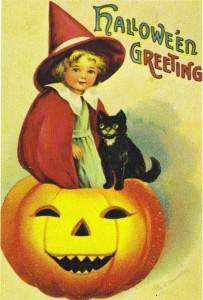 Vintage Halloween Pic