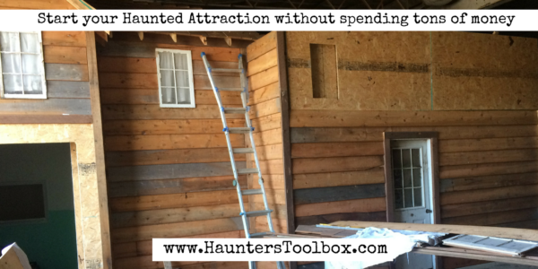 start a haunt for free